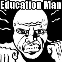 Education Man